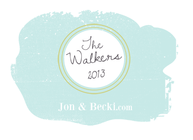 Jon and Becki  logo